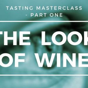 A Tasting Masterclass - Part 1 of 3 -  The Look of Wine
