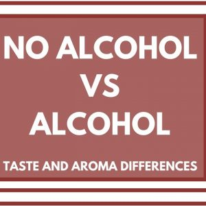 ALCOHOL VS NO ALCOHOL IN WINE - What are the taste and aroma differences?