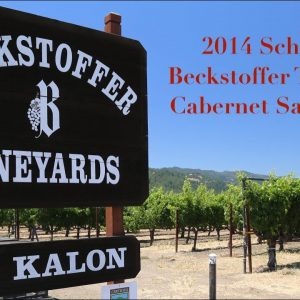 Collector Wine Review - 2014 Schrader Beckstoffer To Kalon Cabernet Sauvignon