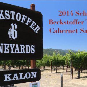 Collector Wine Review - 2014 Schrader Beckstoffer To Kalon Cabernet Sauvignon