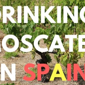 Drinking Moscatel in Spain - Sweet Wine review and tasting