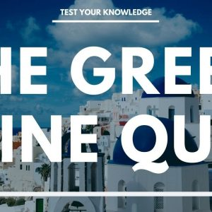 The Greek Wine Quiz - How well do you know your Greek wine? WSET style questions.