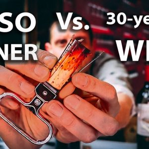 Ah-So Wine Opener to Uncork Old Vintage Bottle | How To Use a Butler's Thief Corkscrew?