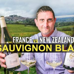 France vs New Zealand Sauvignon Blanc Wine
