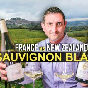 France vs New Zealand Sauvignon Blanc Wine