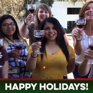 Holiday Greetings from Favorite Artisan Wineries