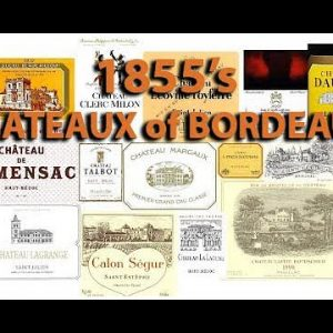 How to Say? 60+ Bordeaux 1855 Chateaux -  Wine Pronunciation