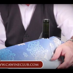 How to Wrap a Bottle of Wine - The California Wine Club