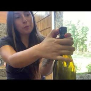 Maysara Wines  How to Open a Bottle with a Glass Stopper
