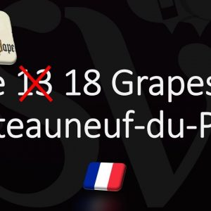 The 18 Grapes of Châteauneuf-du-Pape 🍷 (NOT 13!)