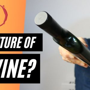 The FUTURE of WINE - Innovation in wine bottle design.