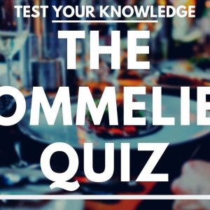 The Sommelier Quiz - Wine Service WSET style exam questions to test and quiz your knowledge