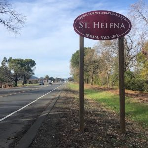 ST. HELENA AVA - Napa Valley Sub-Appellation Series 10/16