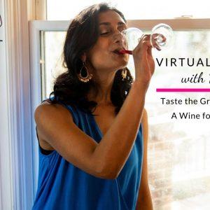 Taste the grape Grenache - Virtual Wine Tasting