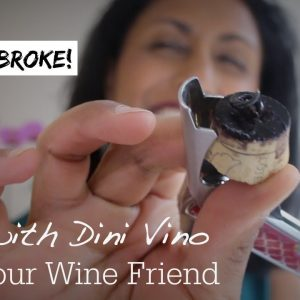 What to do when a wine cork breaks! Help me open my wine!!