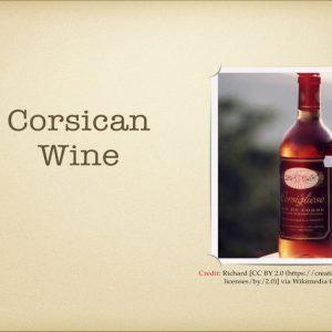 Winecast: Corsican Wine