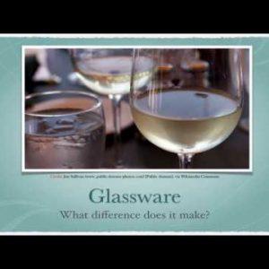 Winecast: Glassware