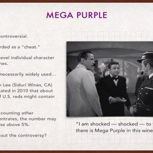 Winecast: Mega Purple and Grape Concentrates
