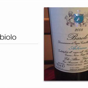 Winecast: Nebbiolo