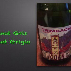 Winecast: Pinot Gris
