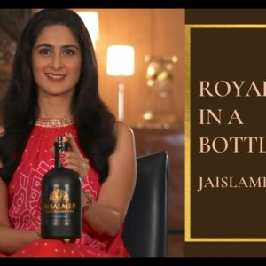 Jaisalmer Gin I Royalty in a Bottle I The Perfect Pour I Vaniitha Jaiin I Gin