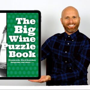 The Big Wine Puzzle Book | Perfect brain training for wine lovers