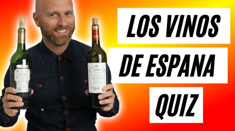 Los Vinos de Espana Quiz - How well do you know Spanish Wine?