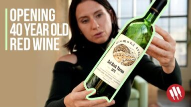 Opening 40 Year Old Wine | Wine Folly